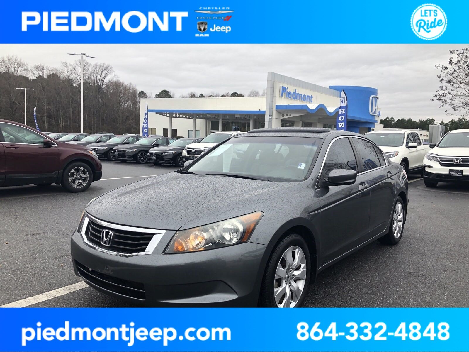 Pre-Owned 2010 Honda Accord Sdn 4dr I4 Auto EX-L