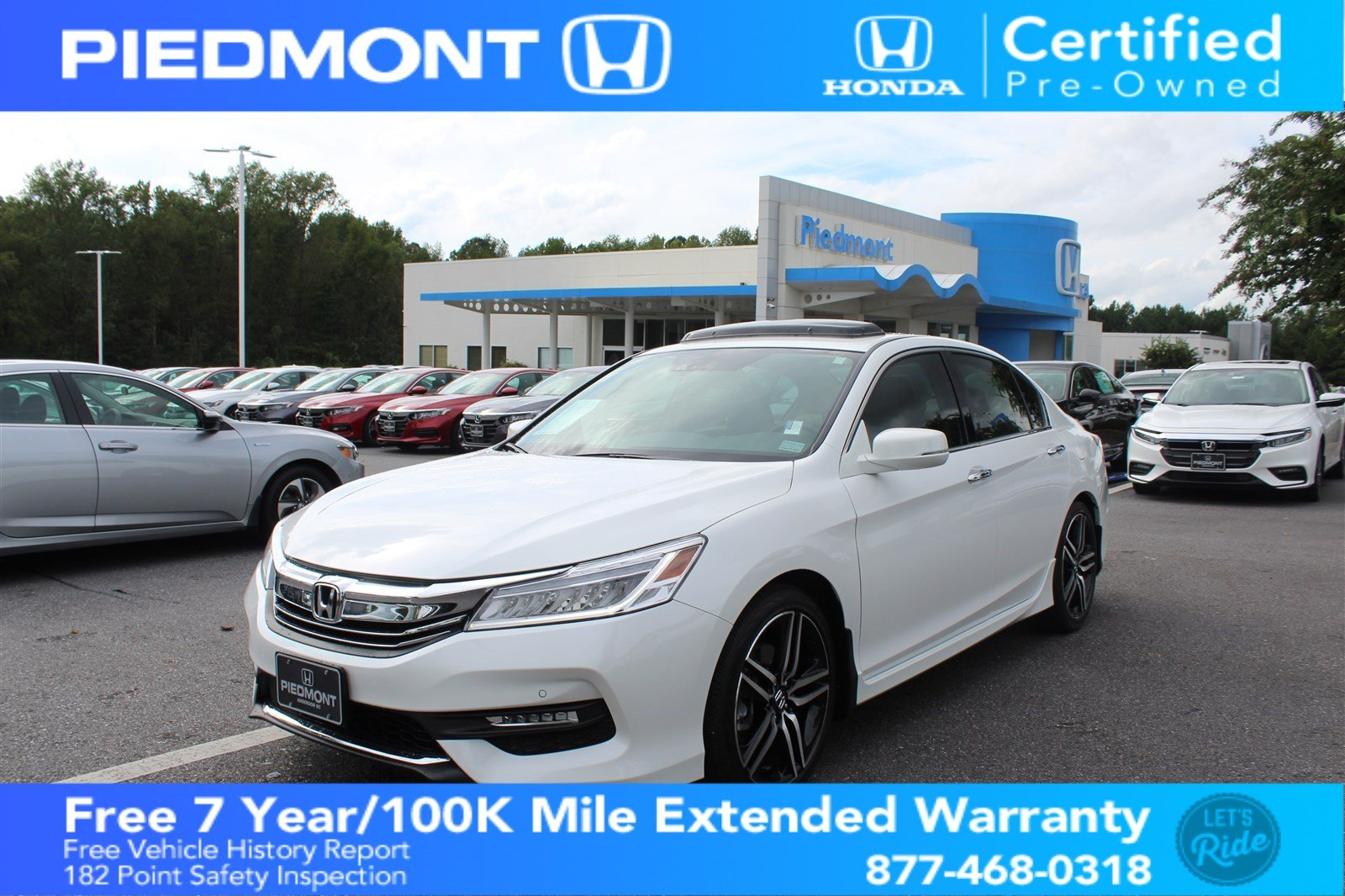 Certified Pre Owned 2017 Honda Accord Sedan Touring Auto