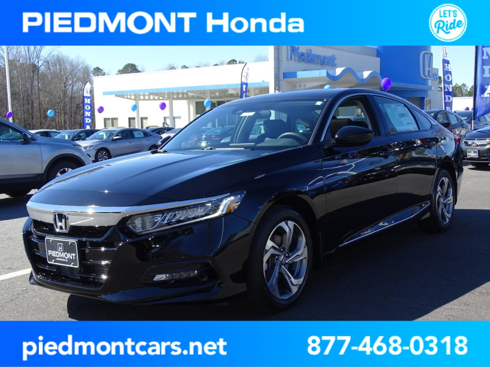 New 2018 Honda Accord Sedan EX 1 5T CVT 4dr Car in Anderson H