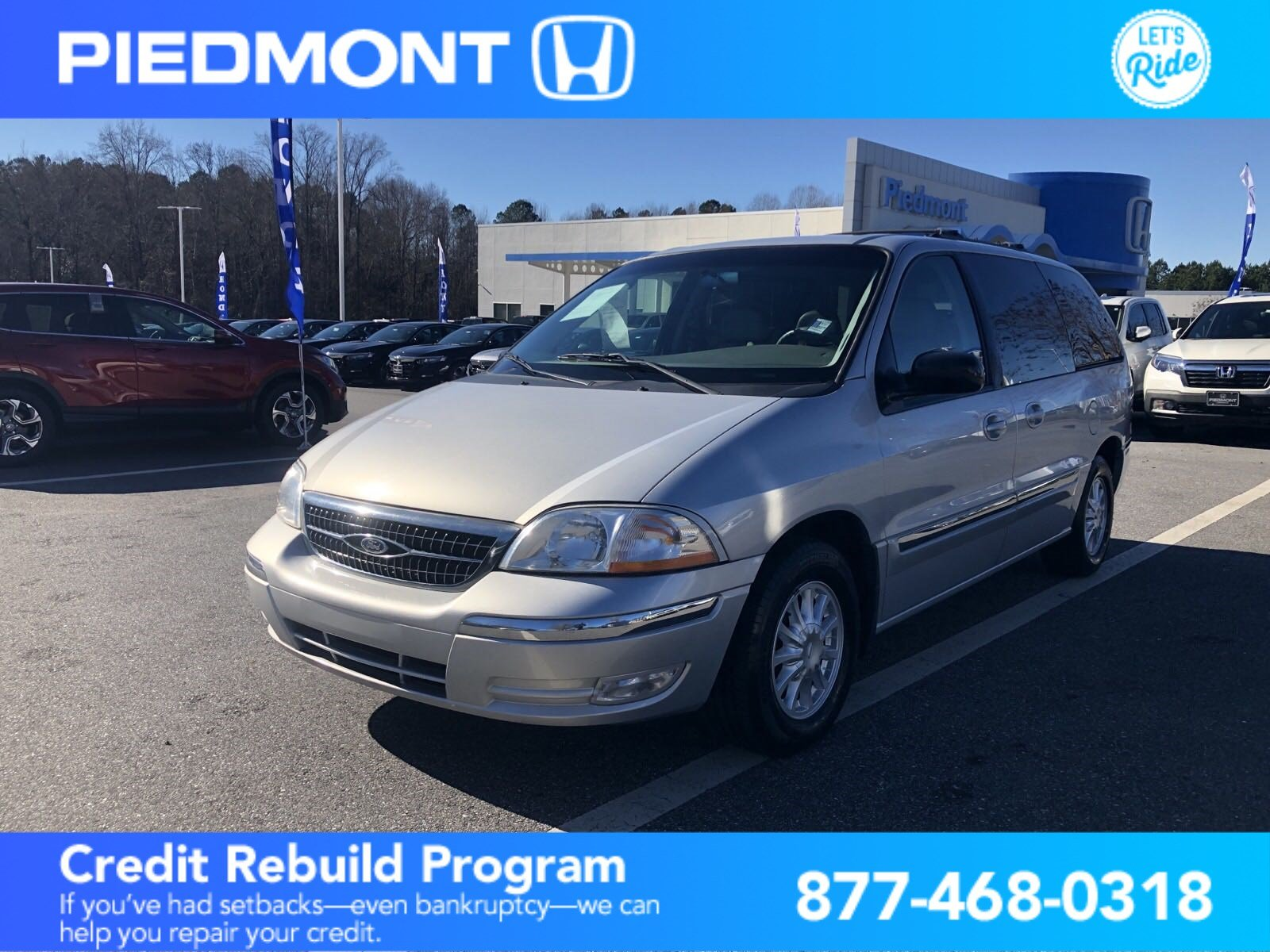Pre-Owned 2000 Ford Windstar Wagon 4dr SE