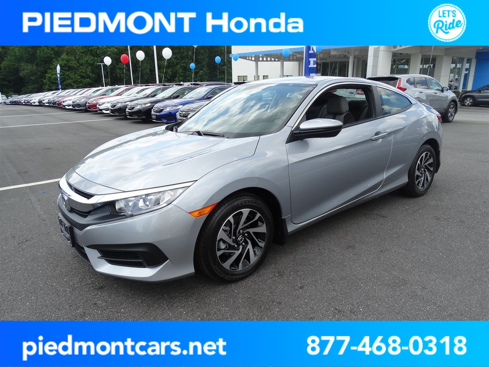 Captivating New 2017 Honda Civic Coupe LX