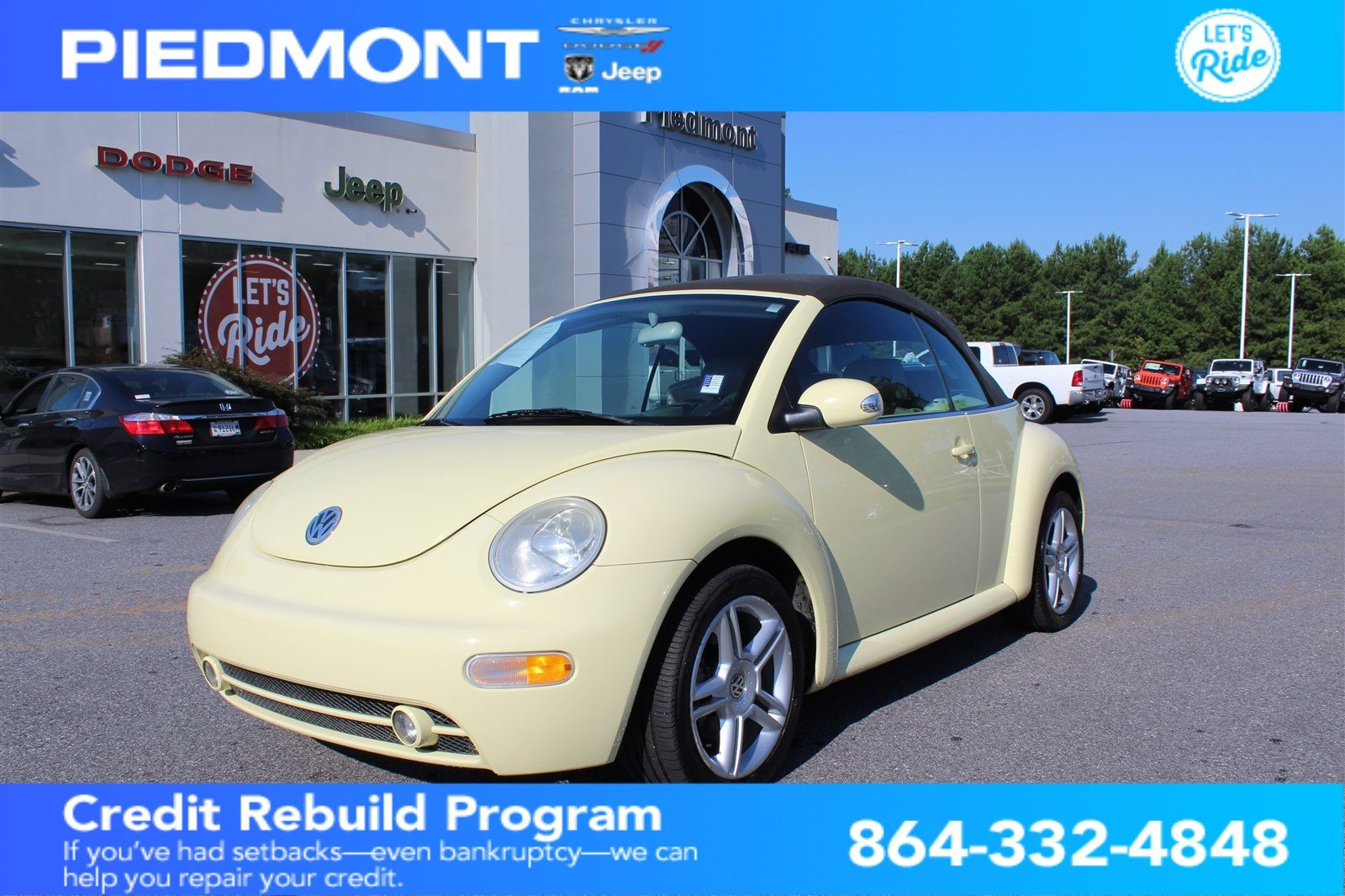 Pre-Owned 2005 Volkswagen New Beetle Convertible 2dr GLS Turbo Manual