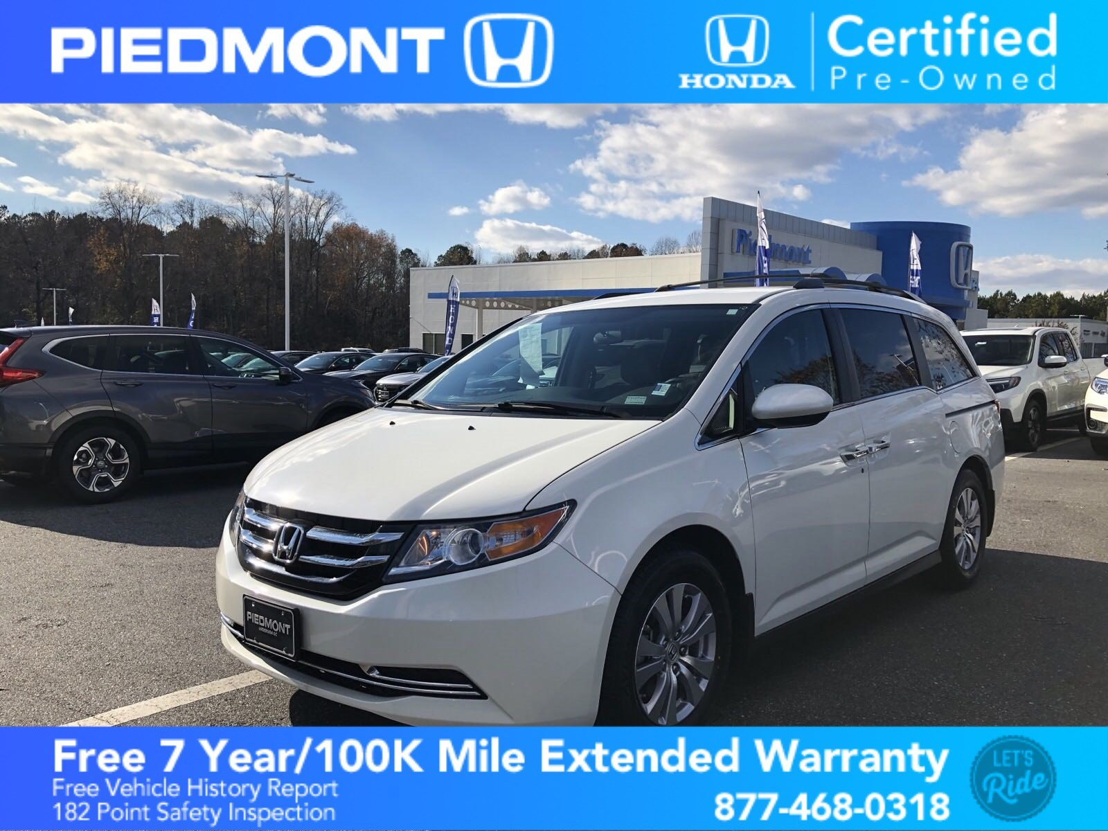 Certified Pre-Owned 2017 Honda Odyssey EX Auto