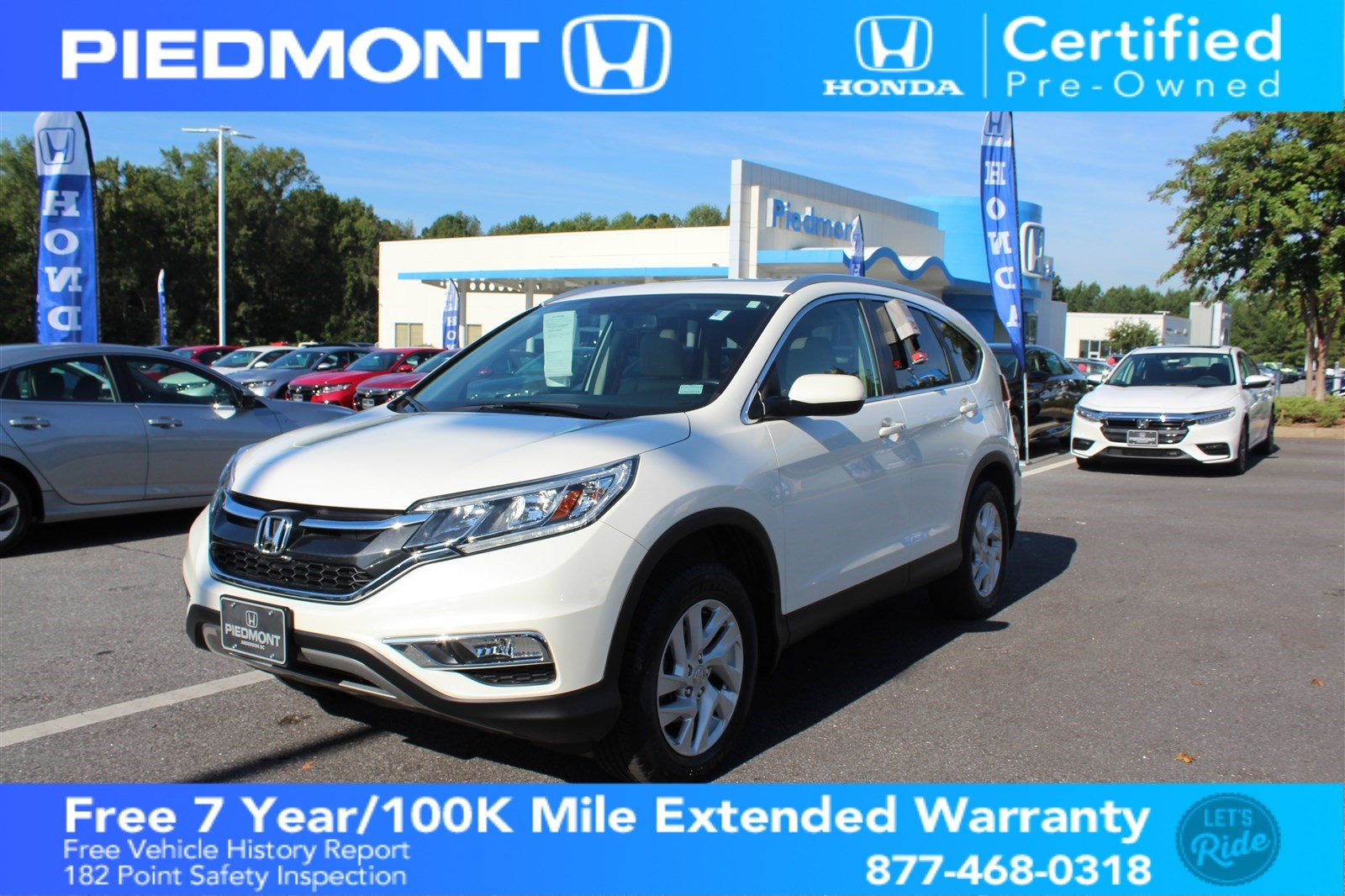 Perfect Certified Pre Owned 2016 Honda CR V EX L
