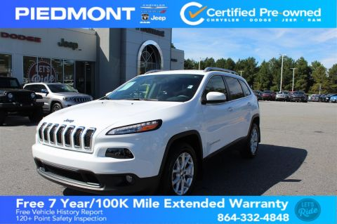 Certified Pre-Owned 2018 Jeep Cherokee Latitude FWD