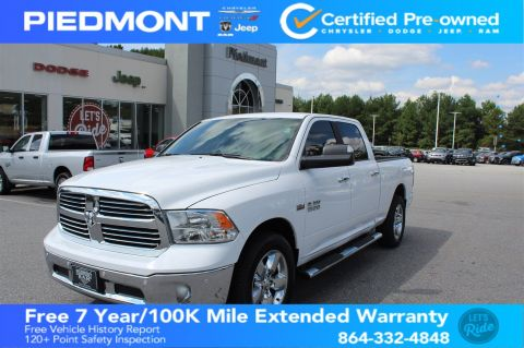 Certified Pre-Owned 2017 Ram 1500 Big Horn 4x2 Crew Cab 6'4 Box