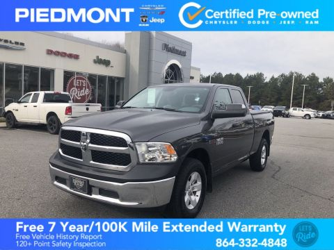 Certified Pre-Owned 2016 Ram 1500 4WD Quad Cab 140.5 Tradesman