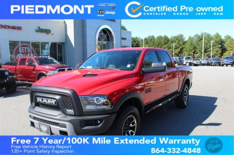 Certified Pre-Owned 2016 Ram 1500 4WD Crew Cab 140.5 Rebel