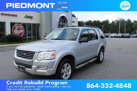 Pre-Owned 2010 Ford Explorer 4WD 4dr XLT