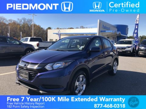 Certified Pre-Owned 2016 Honda HR-V 2WD 4dr CVT LX