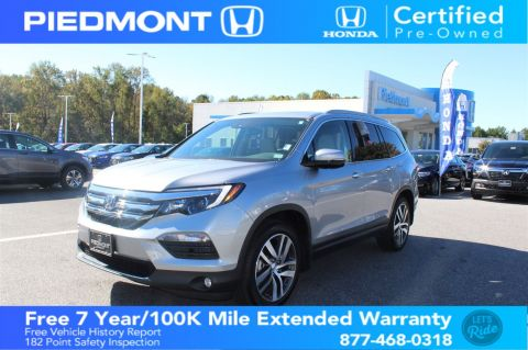 Certified Pre-Owned 2017 Honda Pilot Touring 2WD